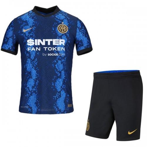 Inter Milan Hjemmedrakt Barn 2021/22 Kortermet
