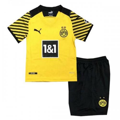 Borussia Dortmund Hjemmedrakt Barn 2021/22 Kortermet