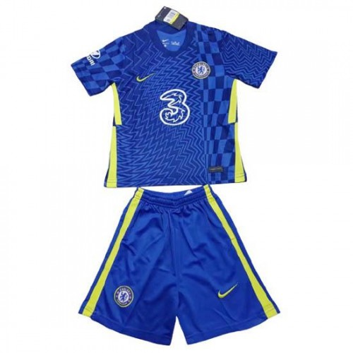 Chelsea Hjemmedrakt Barn 2021/22 Kortermet