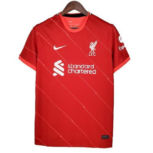 Liverpool Hjemmedrakt 2021/22 Kortermet
